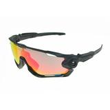 Óculos Oakley Jawbreaker 5 Lentes + Adaptador De Lente Top! e2ef4cddcb