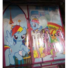 Platos Vasos Globos Dulceros Fiesta My Little Pony