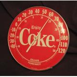 Coca Cola Coke Antiguo Termometro Coleccion
