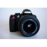 Vendo Cámara Réflex Nikon D3000