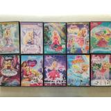 Pack Barbie Animada 10 Películas En Dvd Original