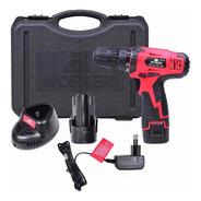 Parafusadeira Bivolt Bateria 10,8v Max 12v Worker