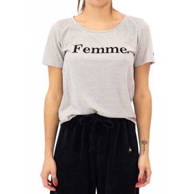 Remera Le Coq Sportif Femme Tee W Mujeres