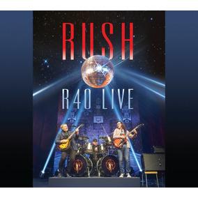 Rush R40 Live 3cd+blu-ray Import.nuevo Cerrado Orig.en Stock