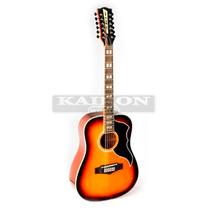 Guitarra Acustica Eko Ranger 12 Cuerdas Honeyburst