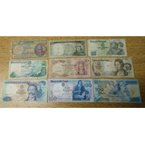 * Portugal Lote 9 Billetes Antiguos #xw95