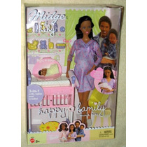 Barbie Midge&baby Grávida Happy Family Mattel