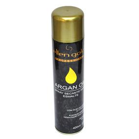Spray Secante Para Esmalte Argan Oil 400 Ml - Ellen Gold