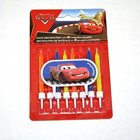 Juguete Disney Cars Decorador De La Torta (9 / Pkg)