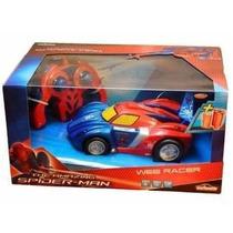 Carro Control Spiderman Web Racer Original