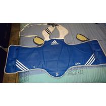 Peto Para Tae Kwon Do Adidas Original Doble Vista