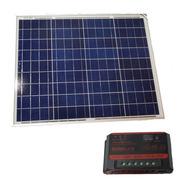 Kit Panel Energia Solar 60 Watts + Regulador Carga 10 Amper