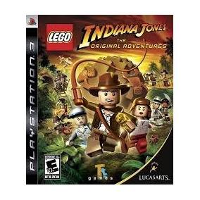 Ps3 Lego Indiana Jones The Original And Aventure