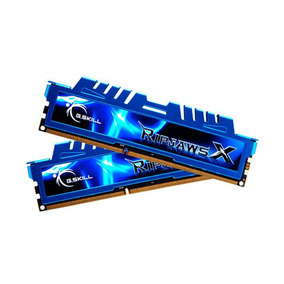 Memória G.skill Ripjaws X Ddr3 16gb (2x8gb) 1600mhz Azul