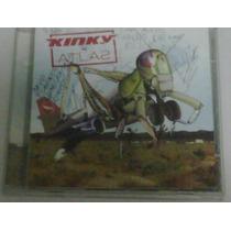 Cd De Kinky: Atlas Bonus Tracks & Autografiado 2003
