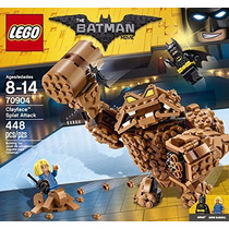Lego Batman Película Cara De Barro Splat Ataque