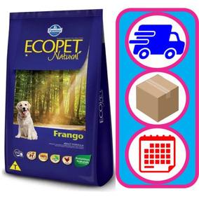 Ração Premium Ecopet Natural Para Cães Adultos Frango 15 Kg
