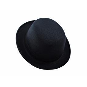 Chapéu Coco Preto Bowler Chaplin Lã Retro Qualidade Top