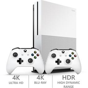 Video Game Xbox One S 500gb Com 2 Controles Promoçao