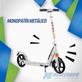 Monopatín Metálico Con Acero Profesional, Ultra Moderno