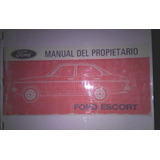 Manual De Usuario Ford Escort Mk 2 Pamperito En Papel