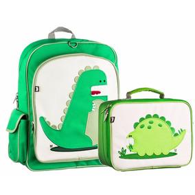 Kit Mochila Lonchera Beatrix Niño Escuela Niña Dinosaurio