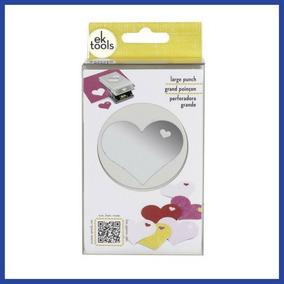 Perforadora Forma Doble Corazón Ek Tools * Envío Gratis