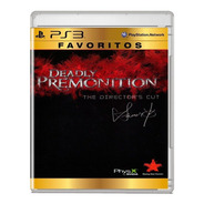 Deadly Premonition - Ps3