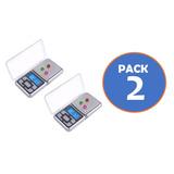 Pack 2 Pesa Balanza Digital Gramera 0,1gr -500gr Gocyexpress