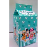 Caixa Milk Personalizada Mickey Baby