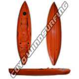 Kayak Kr Indian 1 - Travesia Pesca Estable 1 Persona