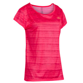 Remera Topper T-shirt Trng Wmns Jaquard Mujer