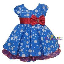Vestido De Festa Infantil Galinha Pintadinha Promoção