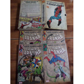 Coleção Histórica Marvel - Homem Aranha Box 01 - Lacradas