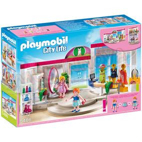 Playmobil 5486 Tienda De Ropa Del Centro Comercial Boutique