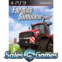 Farming Simulator 2013 - 13 Psn Ps3 - Envio Imediato Pt