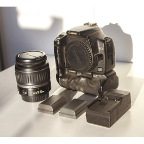 Canon Eos 350d + 18-55mm 3.5-5.6 + Battery Grip + 2 Baterias