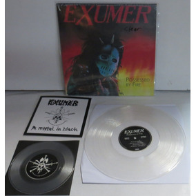 Exumer Possessed By Fire Lp + Compacto Transparente Selado
