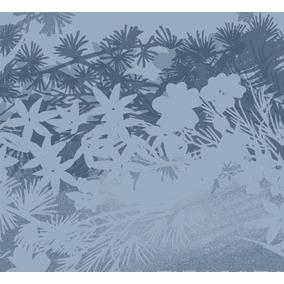 Bandana Masculina Salomon - Necktube Leaves Ii Azul- Running