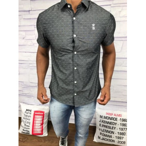 Camisa Masculina Social Armani | Lacoste | Multimarcas Top