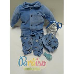 Conjuntos Meninas Cor Principal Azul Aço em Rio Grande do Sul de ... e016598aa04
