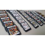 Nintendo Ds Lite Videojuegos Mario, Pokemon, Dragon Ball Etc