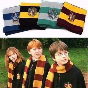 Bufanda Harry Potter Hogwarts Gryffindor Slytherin Ravenclaw