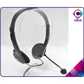 Audifonos Con Microfono Pc Au-100 Gio Skype Call Center