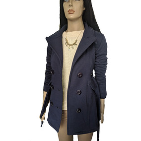 Tapado Saco Mujer Abrigo Con Botones