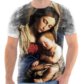 Camisa Camiseta Personalizada Santa Católica Igreja Santo 3