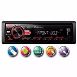 Player Automotivo Rádio Fm Mp3 Com Usb, Pioneer Mvh-88ub