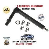 Inyector Diesel Nissan Terrano D22 2.5 Año 2005/2010