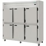 Kres-6 Refrigerador Comercial Digital Inox Escovado 6 Portas