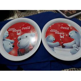 Charolas Coca Cola Navidad 2012
